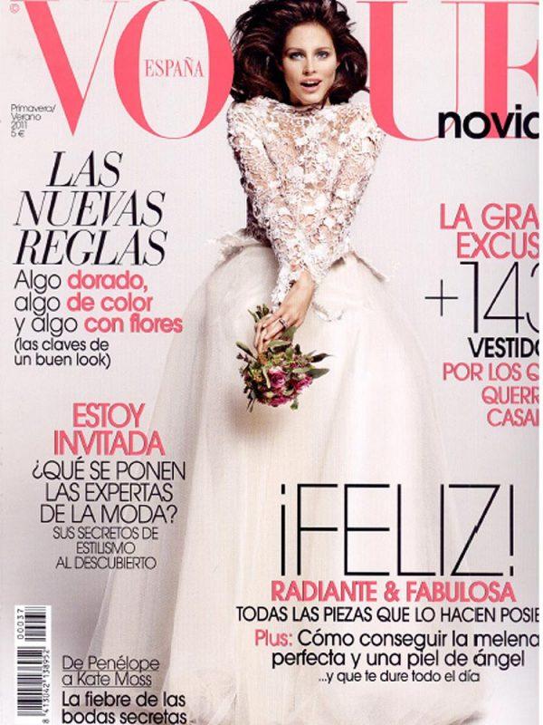 Naslovnica Vogue Novias